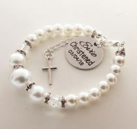 Christening Personalized Bracelet - Boxed